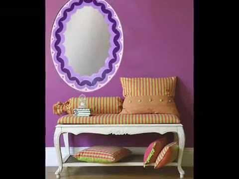 espejos de pared artesanales originales espejos decorativos