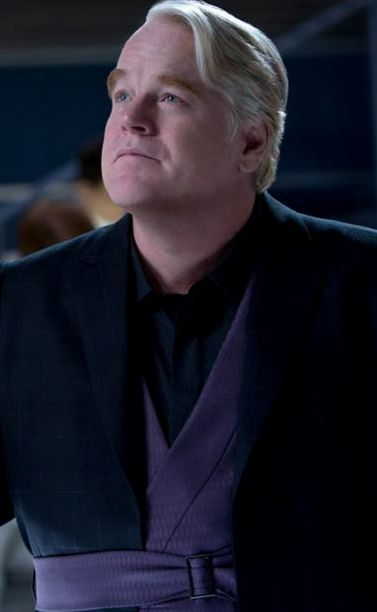 """""""Anyone can be replaced."""" - Plutarch Heavensbee is new Head Gamemaker in The Hunger Games: Catching Fire"""