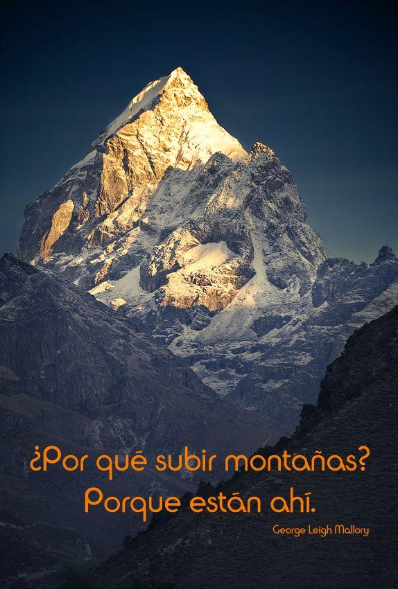¿Por qué subir montañas?