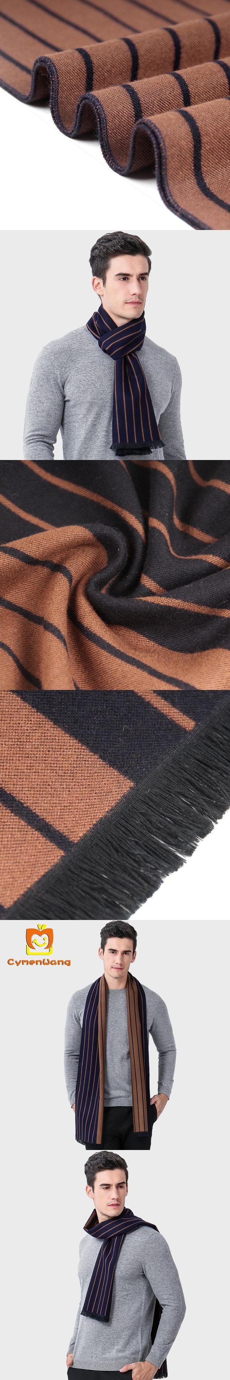 Cymenwang New Winter designer scarf men cotton Scarves female & male brand shawl wrap knit cashmere bufandas scarf with tassels
