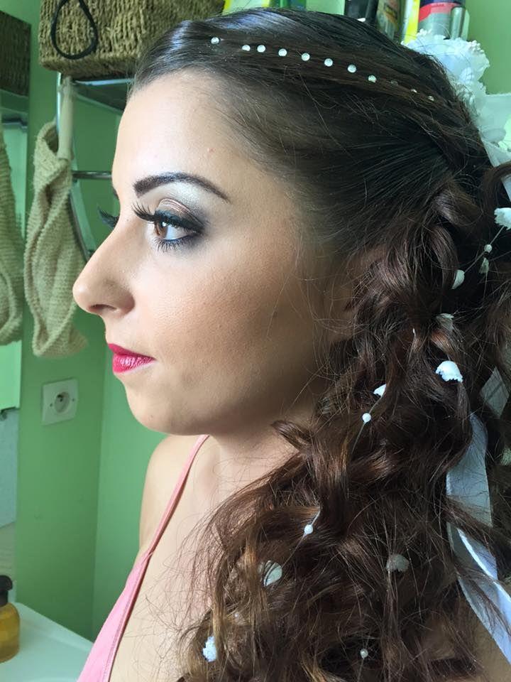 Ici, maquillage d'une mariée, avec pose de faux cils!  Si vous êtes dans les environs de Cadenet, Le Puy Ste Réparade, Rogne ou Lambesc, rendez visite à Tiffany à la Roque d'Anthéron.  Notre institut de beauté vous propose d'arborer un teint estival à toute période de l'année et notre hammam vous permettra de vous relaxer. Prenez soin de vous grâce à nos prestations esthétiques : épilation, soin corps et visage, onglerie, maquillage permanent, mise en beauté, etc.