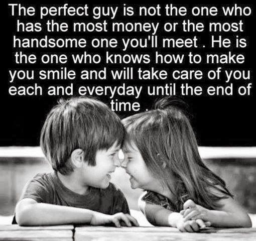 The perfect guy