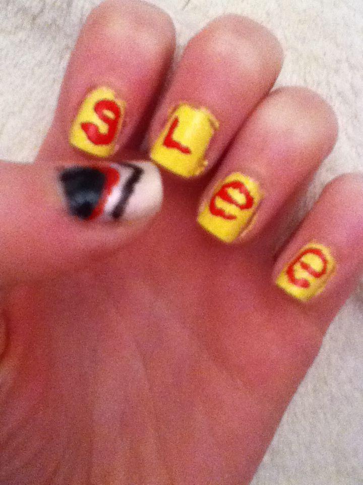 Glee nails!