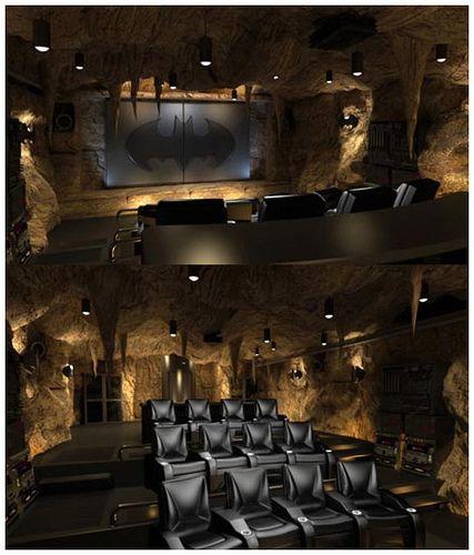 Batcave Home Theater....HEAVEN
