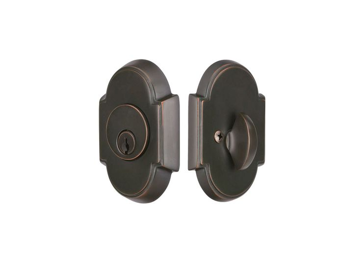 Brass #8 Style | American Classic Entrysets | Deadbolts | Emtek Products, Inc.