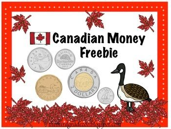 This Canadian money freebie contains two hands on activities to help your students practice the important skill of counting money.   This freebie contains:  'The Flyer Shopping Challenge': where students are given the challenge of cutting out an ad from a local flyer.