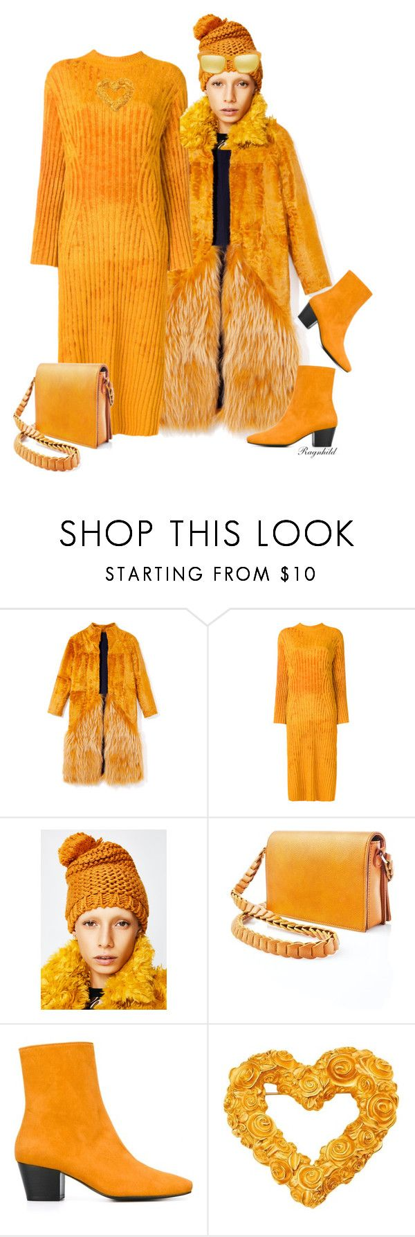 """Mustard Color Contest"" by ragnh-mjos ❤ liked on Polyvore featuring Pringle of Scotland, Street Level, Dorateymur, Givenchy and Oakley"