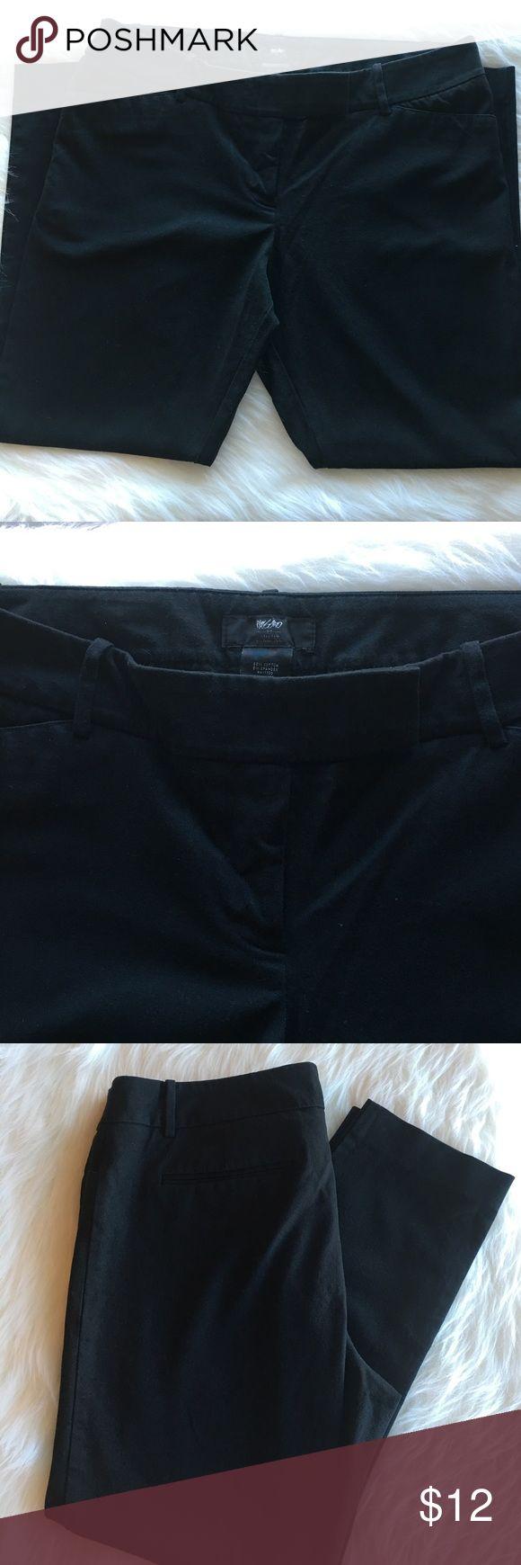 Mossimo black ankle pant Mossimo black dress ankle pant size 16 Mossimo Supply Co Pants Ankle & Cropped