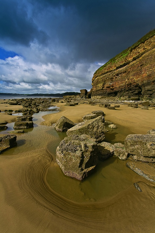 Beach Rock Detail  Amroth