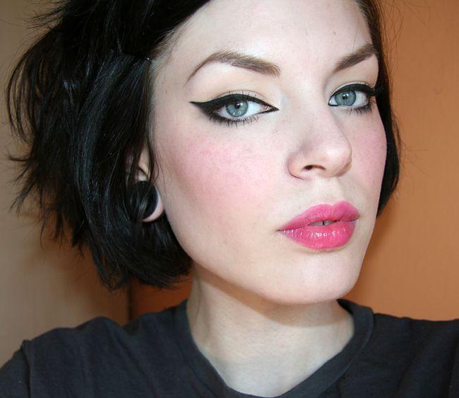 Lovely eyeliner.