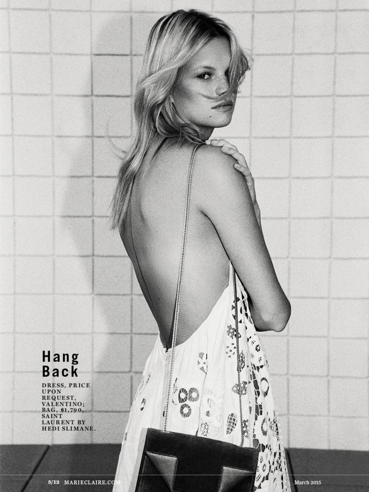 Nadine Leopold by Henrik Purienne for Marie Claire US March 2015