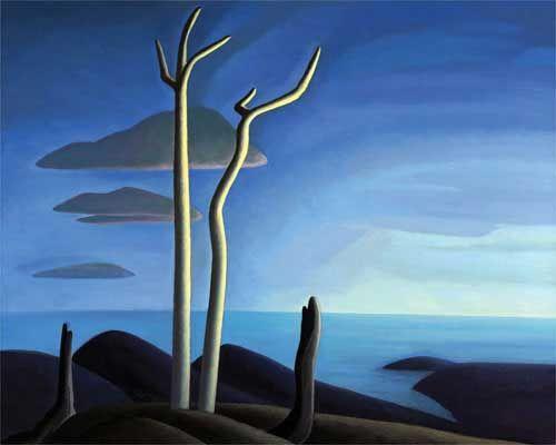 Lake Superior Canvas by Lawren S. Harris