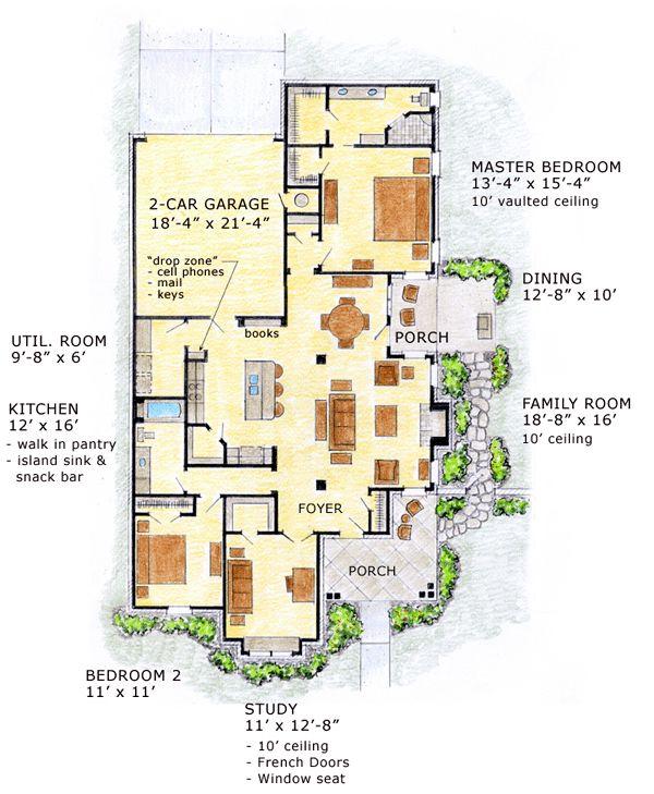 91 best ideas about retirement home ideas on pinterest for Retirement cottage plans