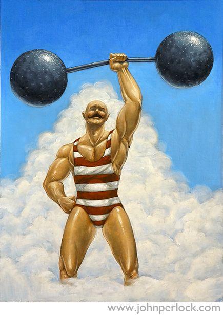 Circus Strongman   Flickr - Photo Sharing!