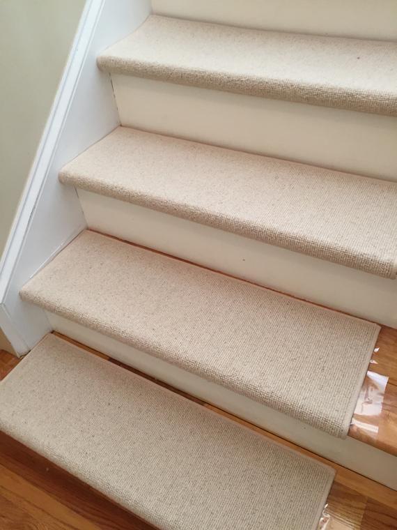Morocco Natural 100 Wool True Bullnose™ Padded Carpet Stair   Cheap Carpet Stair Treads   Carpet Runners   Wall Carpet   Wool Carpet   Rugs   Stair Runner