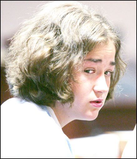 Holly Harvey - In 2004, at the age of 15, Harvey stabbed her grandparents to death. In 2005, she was  sentenced to two life  terms in prison.