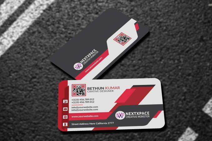 Bethunkumar I Will Design Business Card Design For Vista Moo Got Print For 10 On Fiverr Com Business Card Design Business Design Card Design