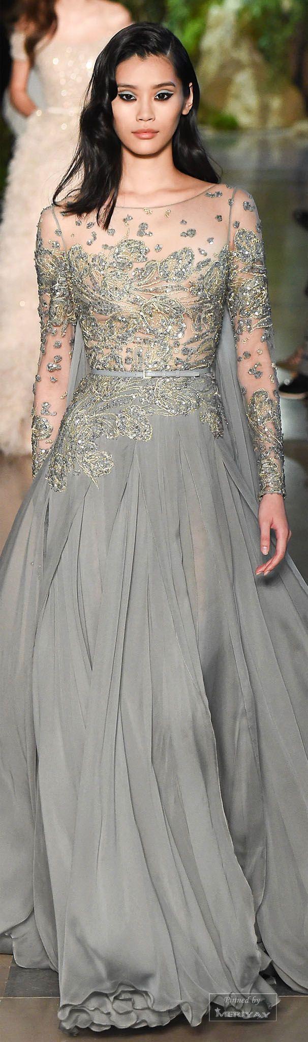 Elie Saab Spring 2015 Couture prachtig maar niet voor mijne portemonnee en niet voor mijn leven,ik zou niet weten wanneer ik dit zou aan doen ;)
