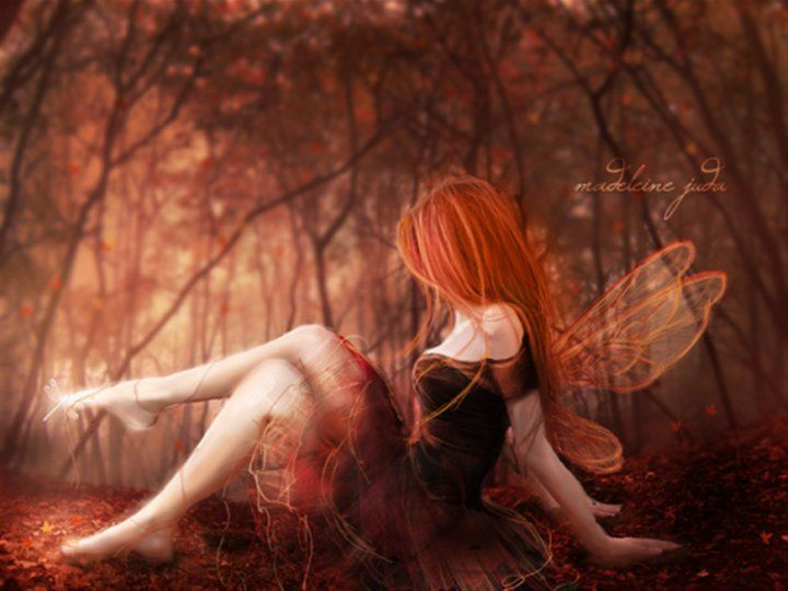 Not pleasant fairy redhead temptress