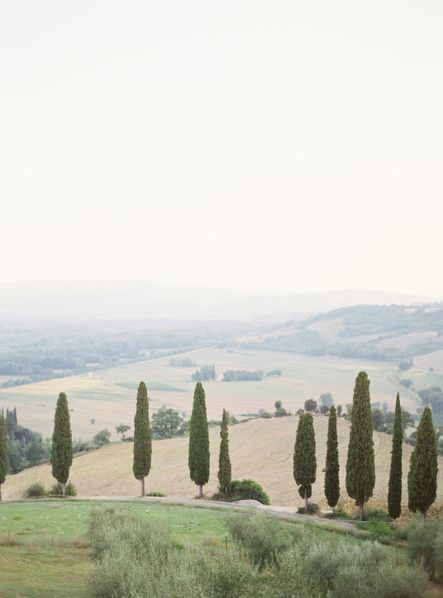 View from Castillo Vicarello, Tuscany