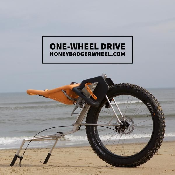 Honey Badger Wheel | Hiking Carts for Backpacking, Hunting
