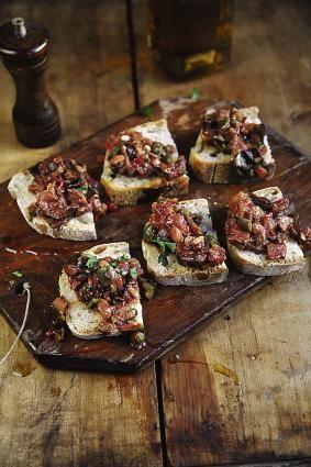 Sicilian recipes - Eggplant Caponata