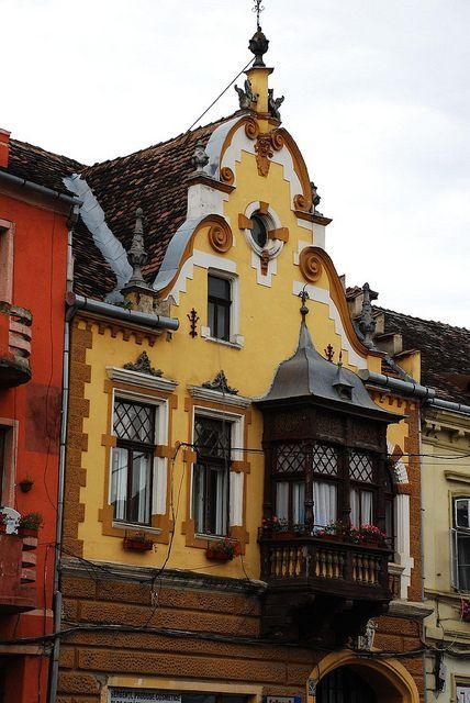 Romania Travel Inspiration - Lower Town of Sighisoara citadel, Transylvania