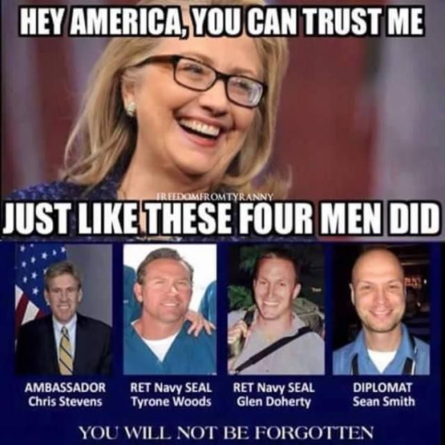 Powerful Meme Shows EXACTLY How Much We Can Trust Hillary Clinton ...