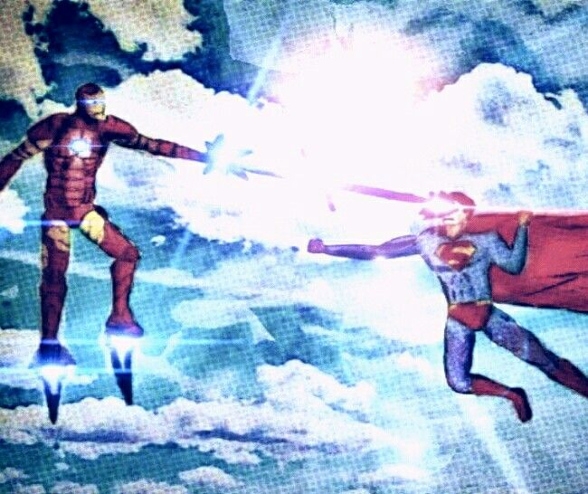 Ironman vs Man of Steel