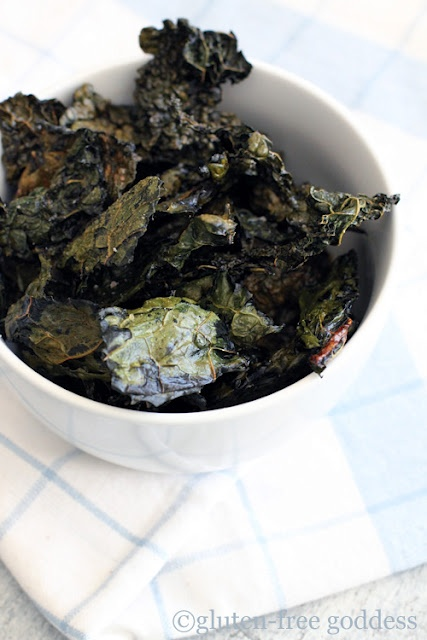 Easy Crispy Kale Chips. Healthiest version of a salty, satisfying potato chip!