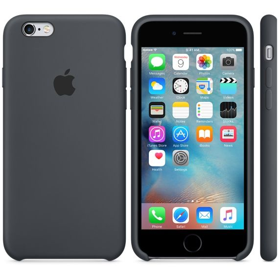 iPhone 6s Silicone Case - Charcoal Gray - Apple