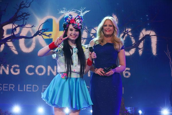 Barbara Schoeneberger Photos: 'Eurovision Song Contest 2016 - Unser Lied fuer Stockholm' Show