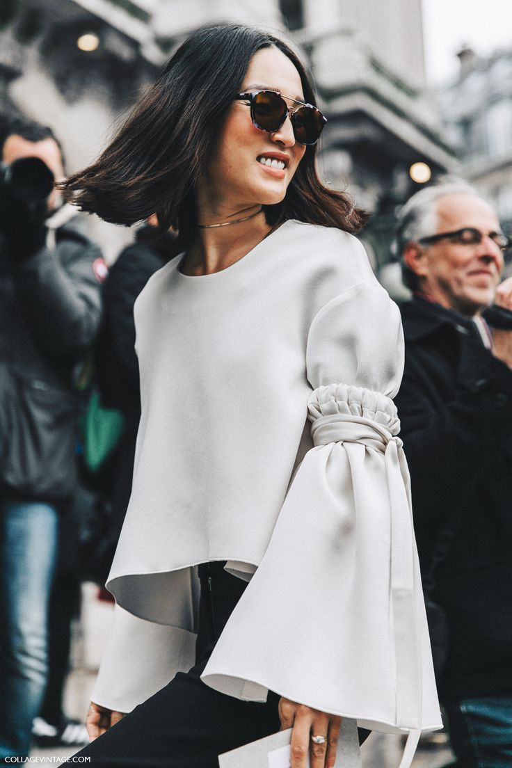 how to wear the bell sleeve trend