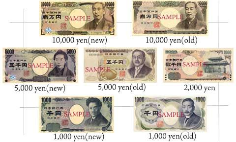 Japan Currency - Japan Travel Tips