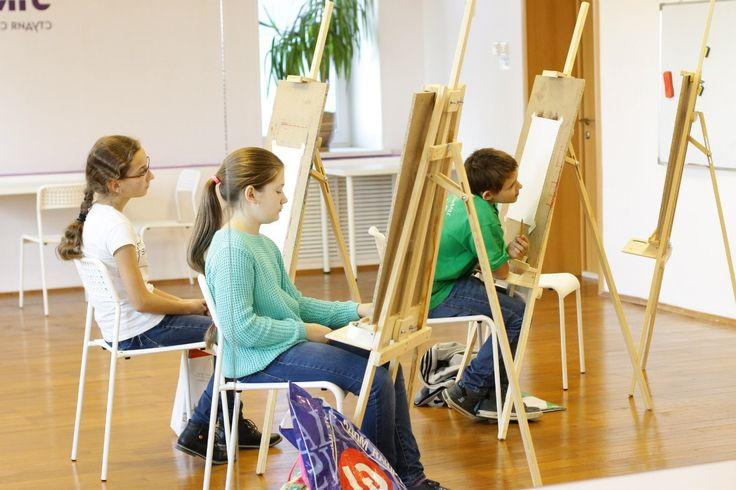 Детки рисуют в Art Fusion   9 фотографий
