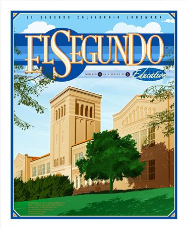 Downtown El Segundo California High School by BoilingPointCreative