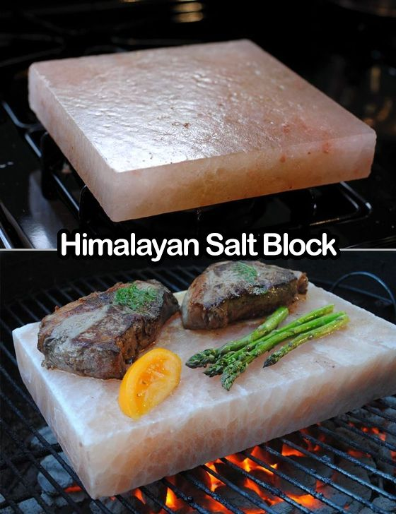This Himalayan Salt Block is so cool...you can cook on it and it also makes a great serving platter! Find it here: http://amzn.to/2ormR9z
