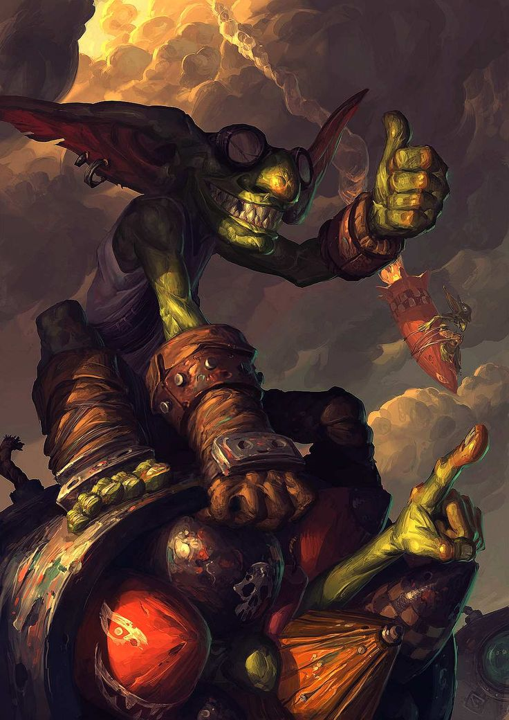 goblin vs gnomes... By Edcid....... Click on image to enlarge....