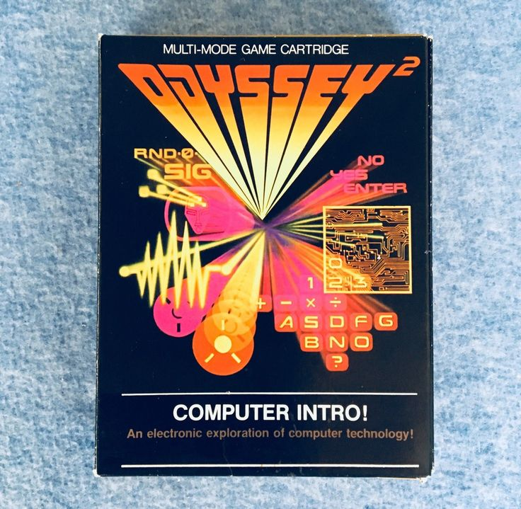 Computer Intro! - Magnavox Odyssey 2 - Boxed - Tested!