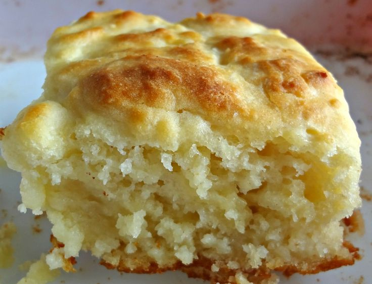 These biscuits are literally baked in butter-making them super soft and fluffy.