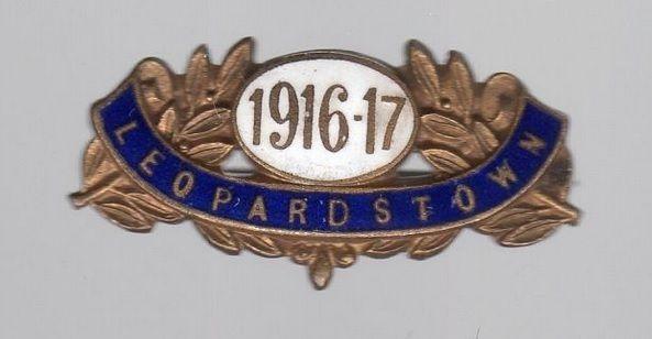 Annual badge - Leopardstown 1916-17