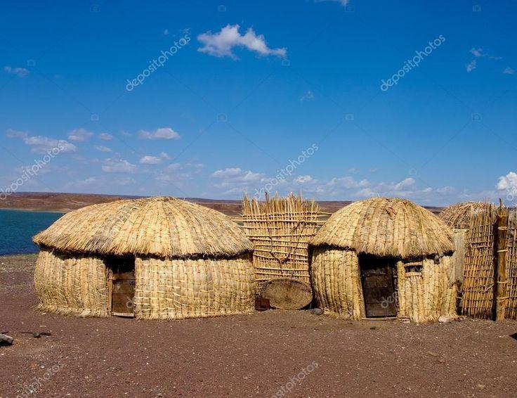 Африканские хижины