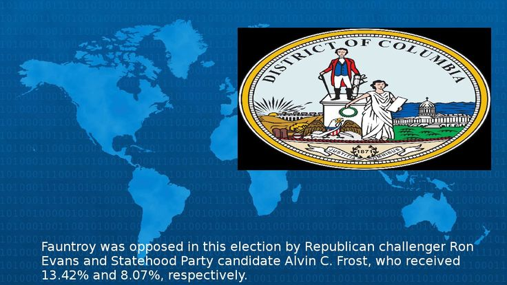 Wikipedia -  United States House Of Representatives Election In The District Of Columbia 1988