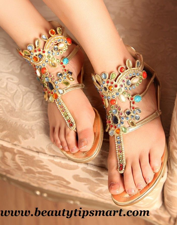 Beautiful 2015 Shoes Summer Flat Footwear Sandals