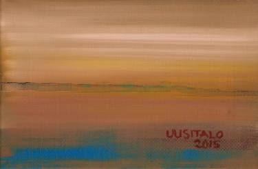 """Saatchi Art Artist Jukka Uusitalo; Painting, """"Scape 2015"""" #art"""