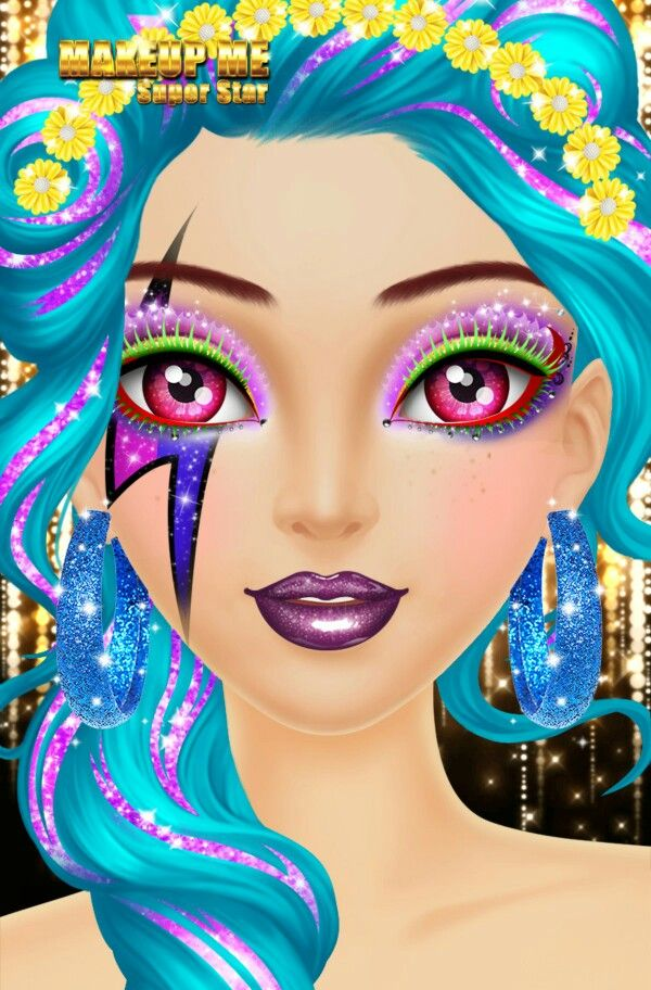 I made this in a makeover game. Do you all like it????