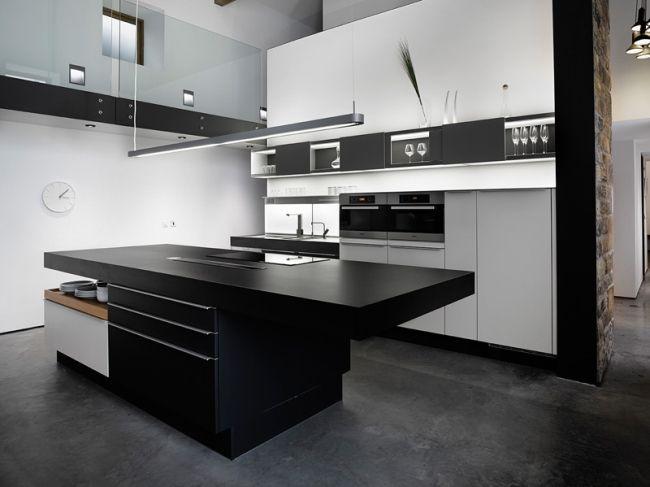Nowoczesny, stonowany design kuchni w czerni i bieli - zobacz i zainspiruj się! Nowoczesne wnętrze starej stodoły czyli jak przebudować stary budynek i dać mu drugie życie? Zapraszam na bloga!