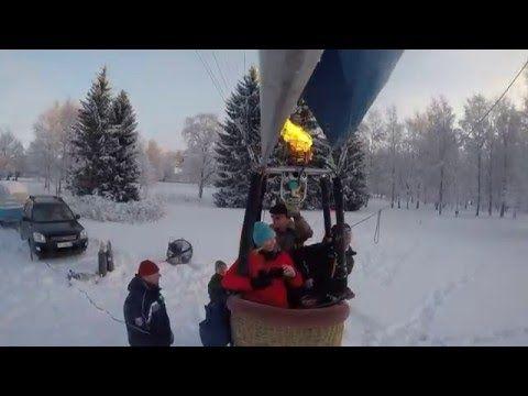 Hot Air Balloon flight in Hämeenlinna, Finland 17 1 2016