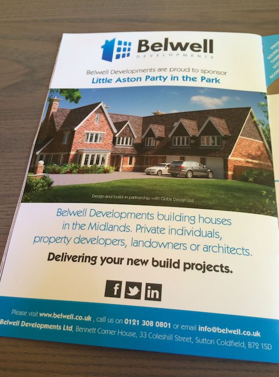 Our latest advert - www.belwell.co.uk #construction #build #newbuild #housebuilding