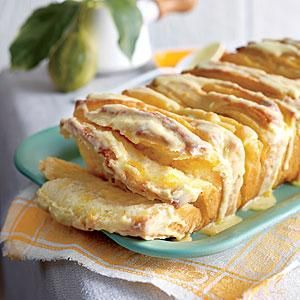 Citrus Pull-Apart Bread    This makes two gorgeous loaves for breakfast, tea, or coffee. Keep one, and share the other.